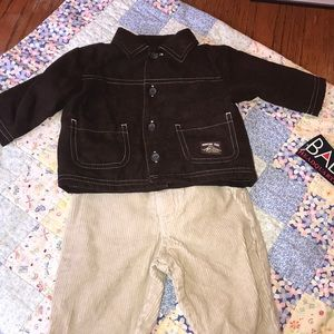 NWT Baby headquarters pants and jacket
